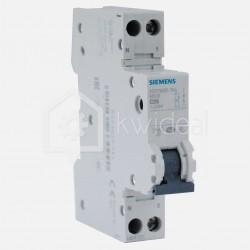 Disjoncteur PH+N connexion à vis 25 ampères - 4,5 KA - courbe C - 230 volts Siemens