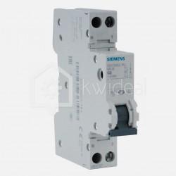 Disjoncteur phase neutre 2 ampères - Siemens