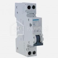 Disjoncteur PH+N connexion à vis 40 ampères - 4,5 KA - courbe C - 230 volts Siemens