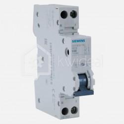 Disjoncteur PH+N connexion à vis 32 ampères - 4,5 KA - courbe C - 230 volts Siemens