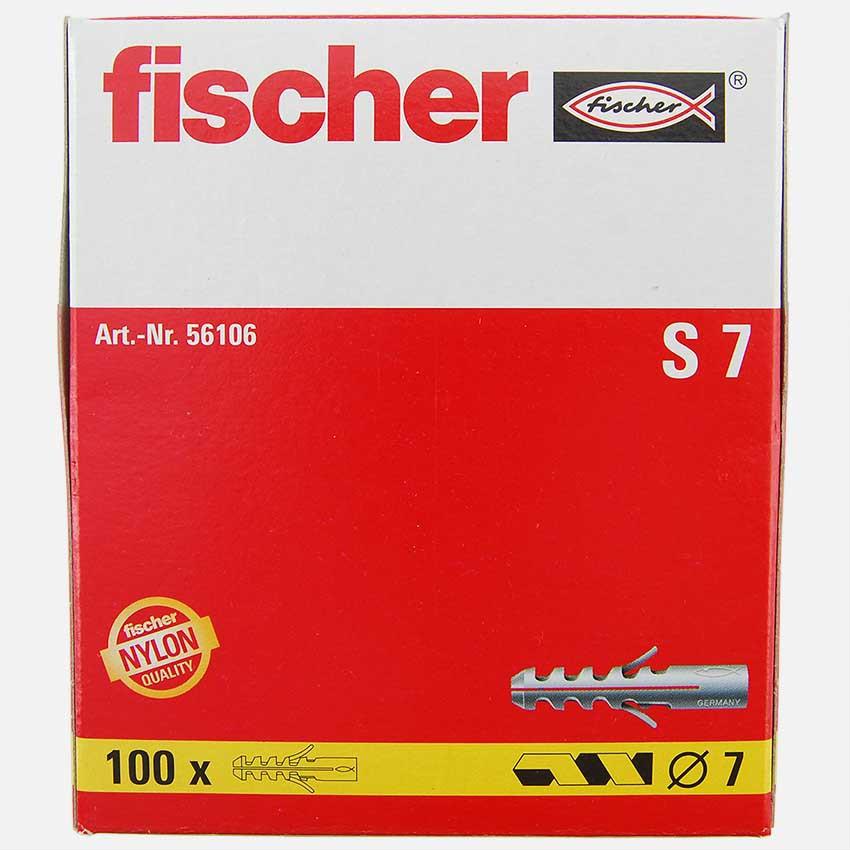 Fischer s 7 Cheville S7 7/mm