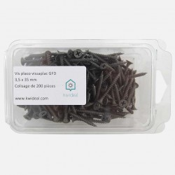 Vis placo phosphate noir 3,5x35 mm