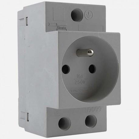 Prise de courant modulaire Eur'ohm