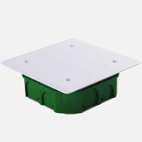 Boîte de dérivation encastrée maçonnerie 100 x 100 mm P40 mm