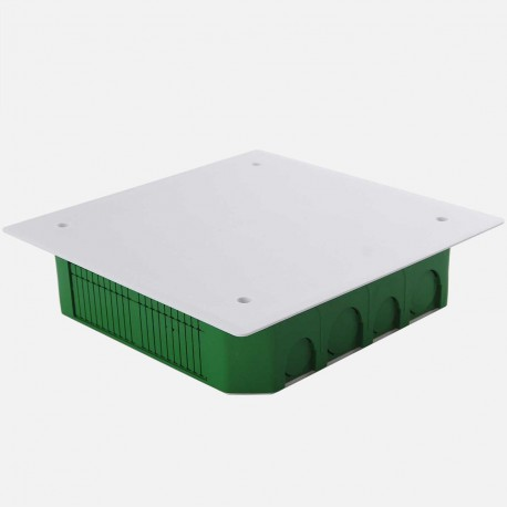Boîte de dérivation encastrée maçonnerie 170 x 170 mm P45 mm