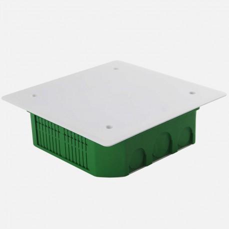 Boîte de dérivation encastrée maçonnerie 140 x 140 mm P45 mm