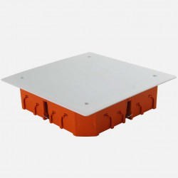 Boîte de dérivation Eur'ohm encastrée placo 170 x 170 profondeur 45 mm