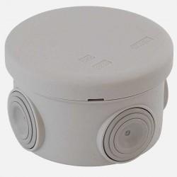 Boîte de dérivation étanche Ø80 mm P45 mm IP55 Eur'ohm