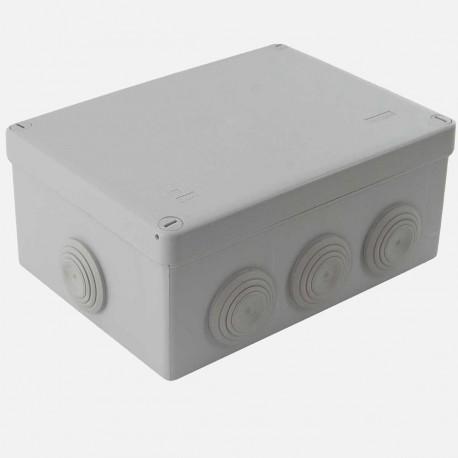 Boîte de dérivation étanche 170x105 mm P70 mm 1/4T IP55 Eur'ohm