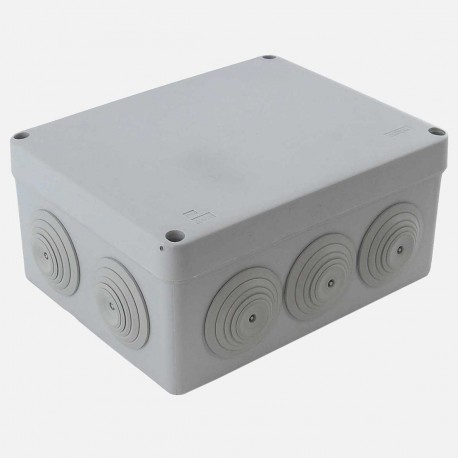 Boîte de derivation étanche 170x140 mm P70 mm IP55 Eur'ohm