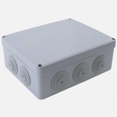 Boîte de dérivation étanche 210x170 mm P80 mm IP55 Eur'ohm