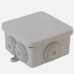 Boîte de dérivation étanche 80x80 mm P45 mm IP55 Eur'ohm