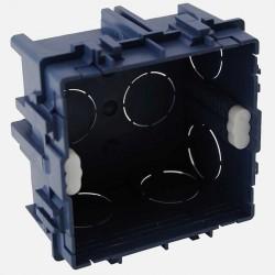 Boîte maçonnerie 1 poste XL tradi 75x75 P40 mm griffe/vis Eur'ohm