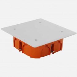 Boîte de dérivation encastrée placo 100 x 100 mm profondeur 40 mm