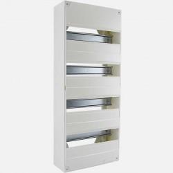 Coffret modulaire Michaud 4 rangées de 13 modules