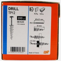 Cheville Drill autoforeuse Spit