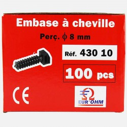 Embase à cheville Eur'ohm