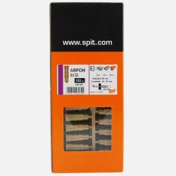 Cheville Arpon D8 8x30 mm pour vis de 4 à 7 mm