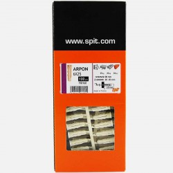 Cheville Arpon D6 6x25 mm pour vis de 3 à 5 mm