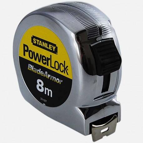 Mètre ruban Powerlock 8m x 25mm Stanley