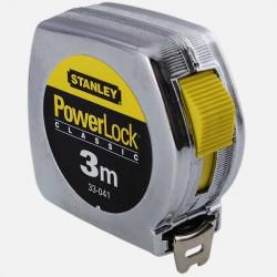 Mètre ruban Powerlock 3m x 19 mm Stanley