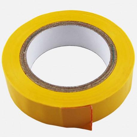 Scotch isolant d'électricien 15 mm x 10 ml jaune Eur'ohm