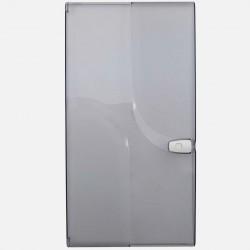 Porte transparente 3 rangées 13 modules pour coffret Q330 Michaud