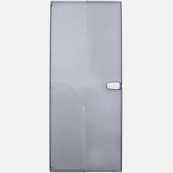 Porte transparente 4 rangées 13 modules pour coffret Q340 Michaud