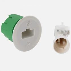 Kit Boîte d'applique maçonnerie DCL Ø54 mm + Douille B22