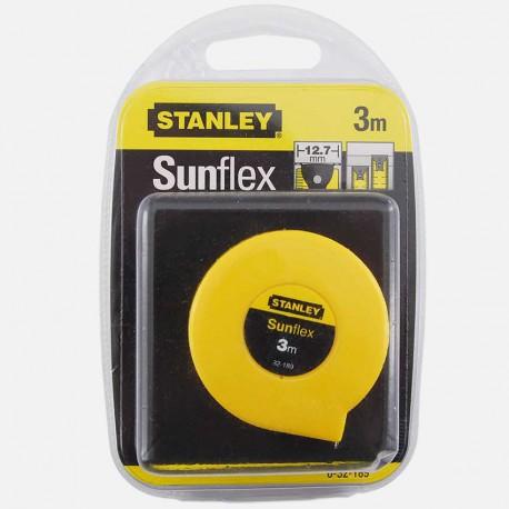 Mètre ruban Sunflex 3 m x 12,7 mm Stanley