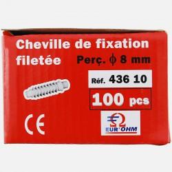 Cheville de fixation M7, perçage Ø 8 mm