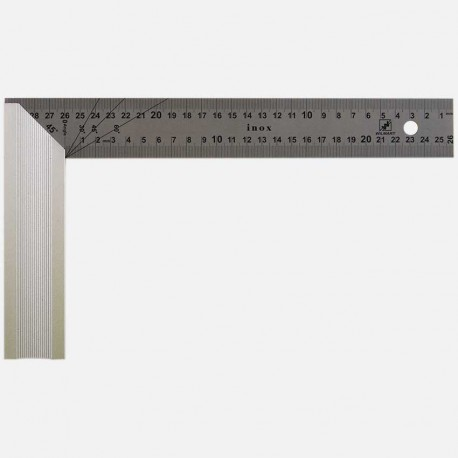 Equerre de menuisier largeur 165mm - hauteur 300 mm