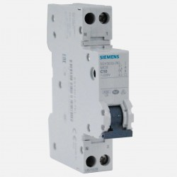 Disjoncteur en promotion : pack de 10 disjoncteurs phase neutre 10A Siemens PH+N