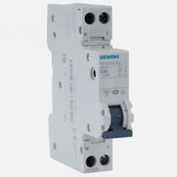 Disjoncteur en promotion : pack de 10 disjoncteurs phase neutre 10A Siemens PH+N