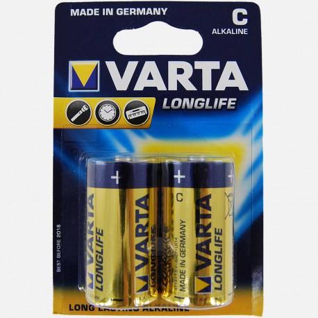 Blister de 2 piles alcaline LR14 Varta