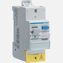 Interrupteur différentiel CDS722F 2P 25A 30ma type AC Hager