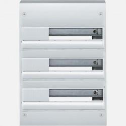 Coffret gamma 3 rangées 18 modules Hager