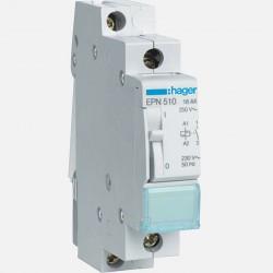 Télérupteur modulaire 16A 1 pôle 230V Hager