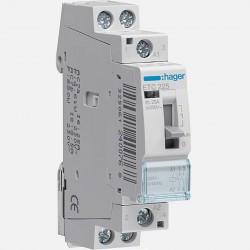 Contacteur modulaire jour-nuit 25A 2 pôles 230V Hager