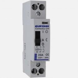 Contacteur modulaire jour-nuit 230 volts Eurohm