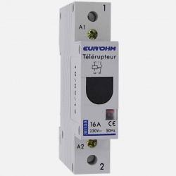 Télérupteur modulaire 230 volts Eur'ohm