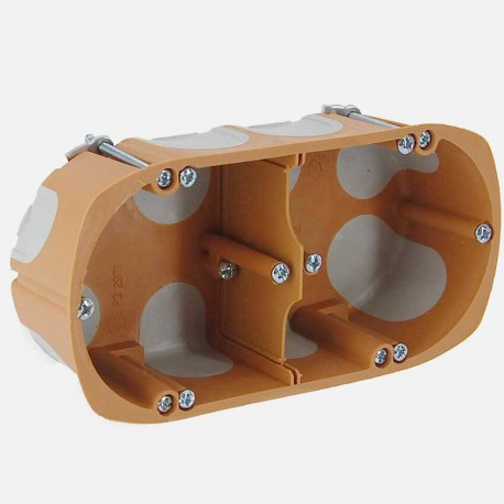 Boîte placo double BBC D68mm P40 mm - SIB