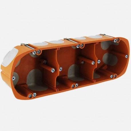 Boîte placo triple BBC D68mm P40 mm - SIB
