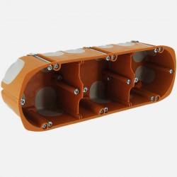 Boîte placo triple BBC D68mm P50 mm - SIB