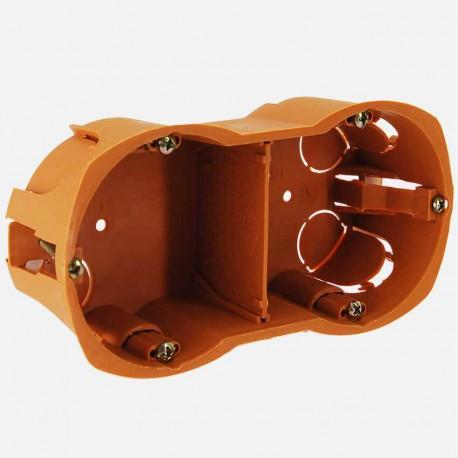 Boîte placo double D68mm P40 mm - SIB