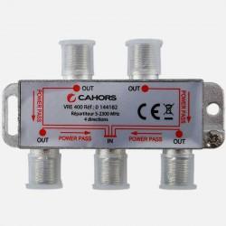 Répartiteur Télévision 4 directions 5 -2300 MHz Cahors