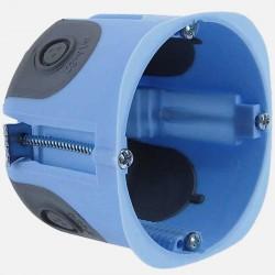 Boîte cloison sèche 1 poste étanche à l'air XL air'métic Ø67 mm P50 mm Eur'ohm