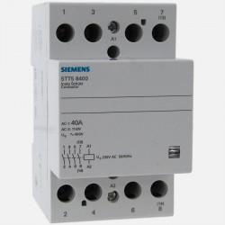 Contacteur modulaire 5TT58400 40A tétrapolaires Siemens