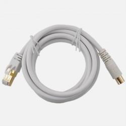 Cordon de liaison RJ45/ Fiche IEC TV lg 2m