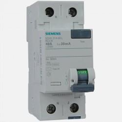 Interrupteur différentiel 5SV4314-0KL 40A-30ma type AC Siemens